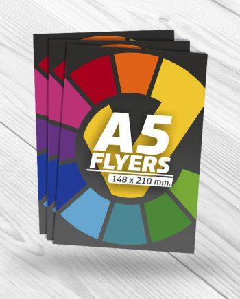 diseño e impresión de folletos A5