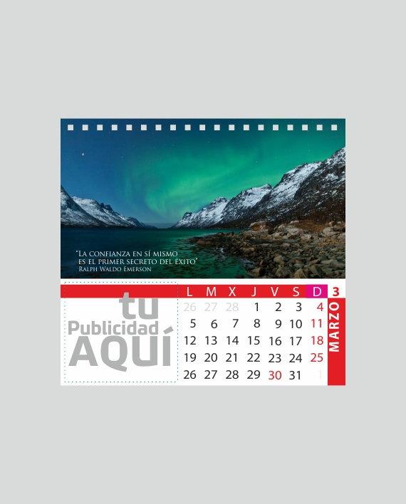 calendario sobremesa personalizado